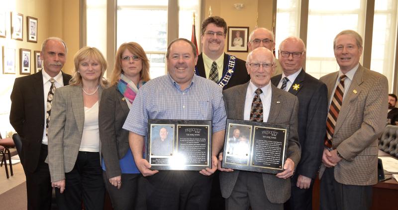 Barton and Norton honoured with award