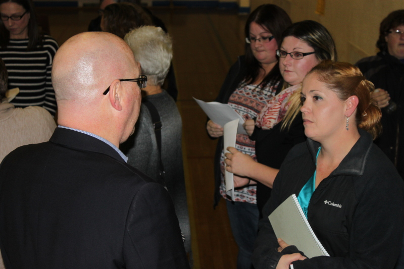 MPP CLARK CALLS FOR MORATORIUM ON SCHOOL CLOSURES