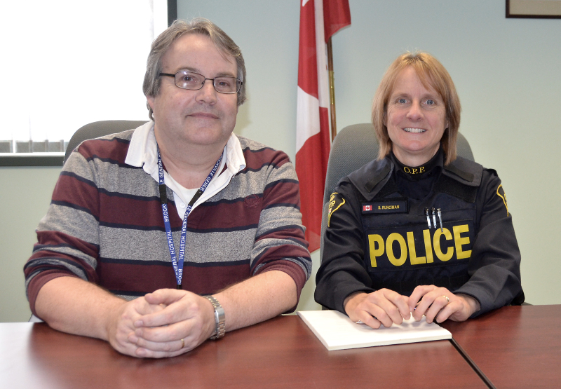 OPP partners with hospital's mental health crisis team