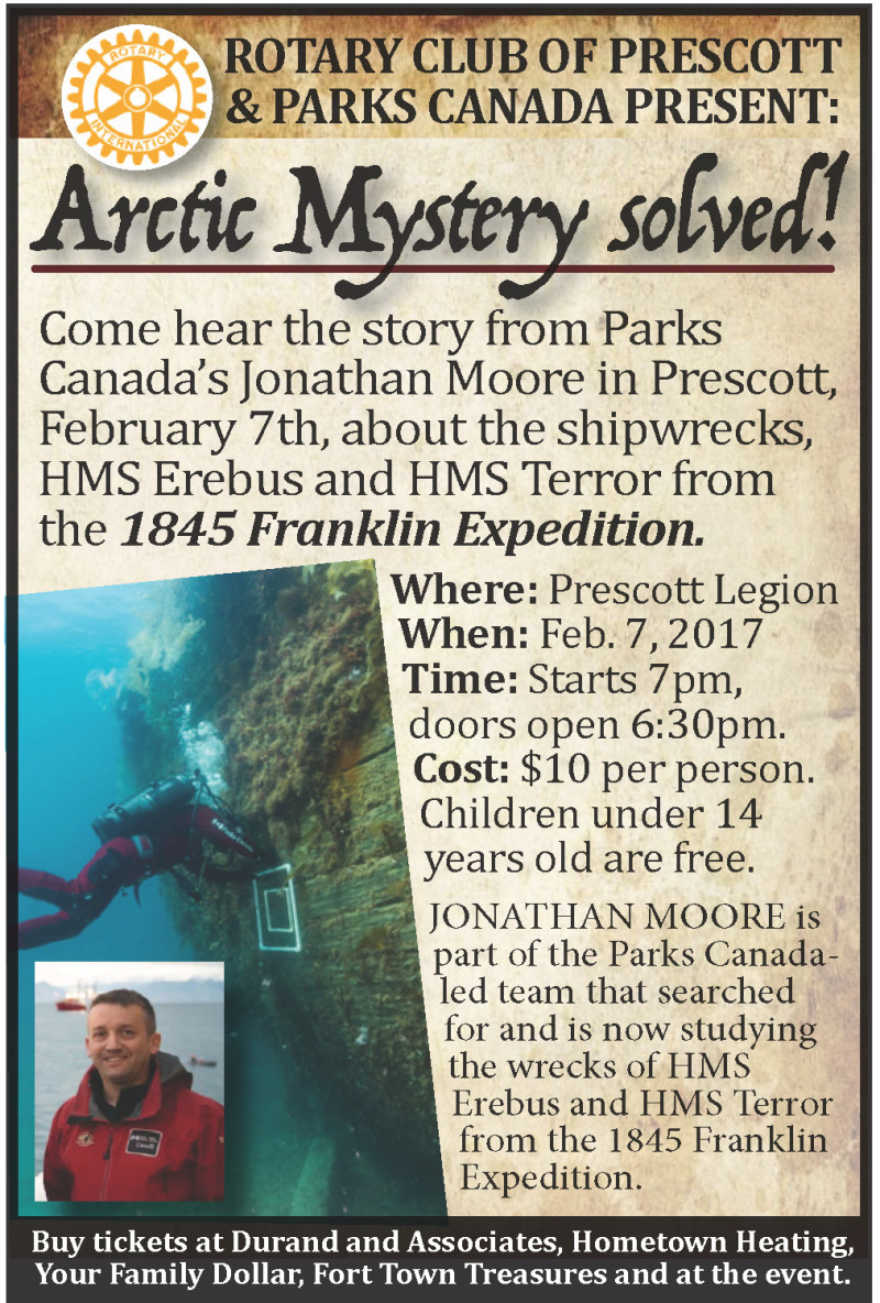 The fate of the Franklin Expedition presented in Prescott