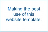 How To Make the Best Use of This Website Template