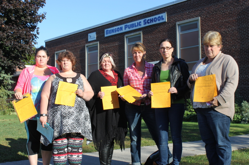 Benson Public School group ready to test UCDSB on closure