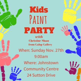 SERA hosts 2nd Paint Party