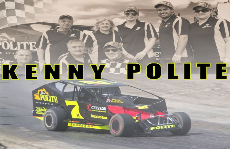 Play is work for Brockville Ontario Speedway driver Kenny Polite