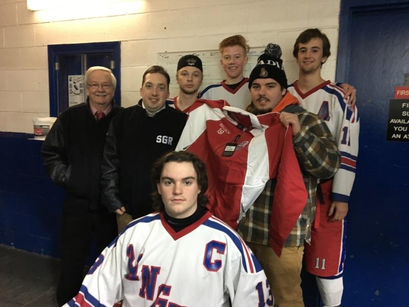 Buck Selleck defines teamwork off the ice
